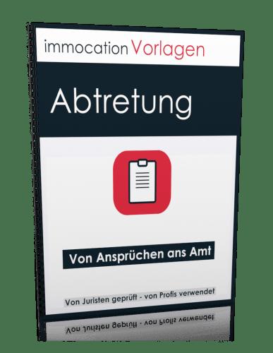 immocation Vorlage - Abtretung Amtsansprüche