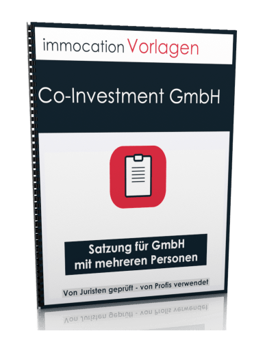 immocation Vorlage - Satzung Co-Investment GmbH