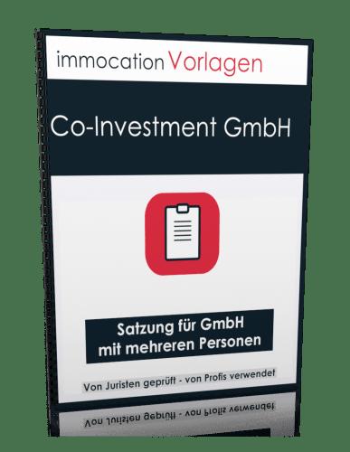 immocation Vorlage - Satzung Co-Investment GmbH