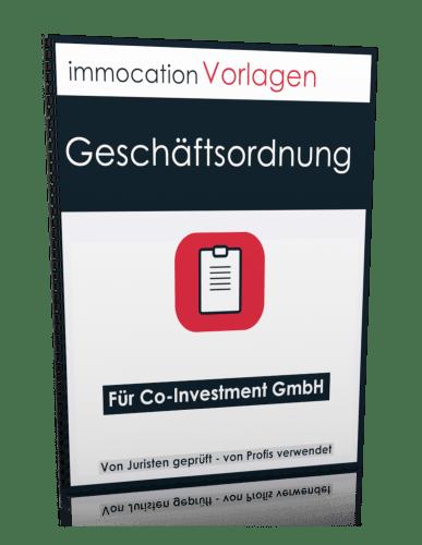 immocation Vorlage - Geschäftsordnung Co-Investment GmbH