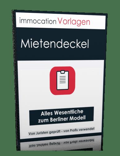 immocation Vorlage - Mietendeckel