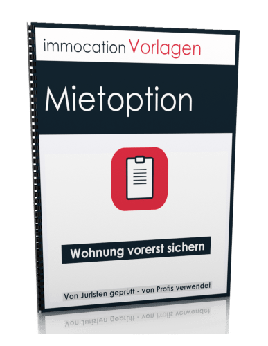 immocation Vorlage - Mietoptionsvertrag