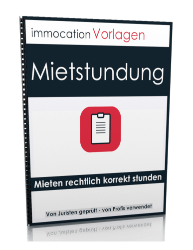 immocation Vorlage - Mietstundungsvereinbarung