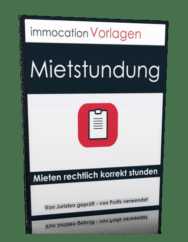 immocation Vorlage - Mietstundungsvereinbarung