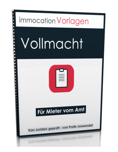 immocation Vorlage - Amtsvollmacht