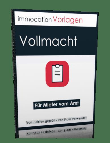 immocation Vorlage - Amtsvollmacht