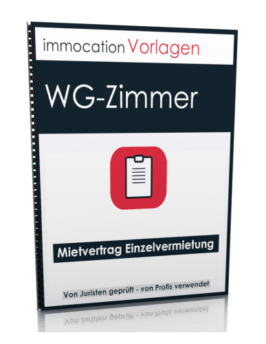 immocation Vorlage - Mietvertrag WG-Zimmer